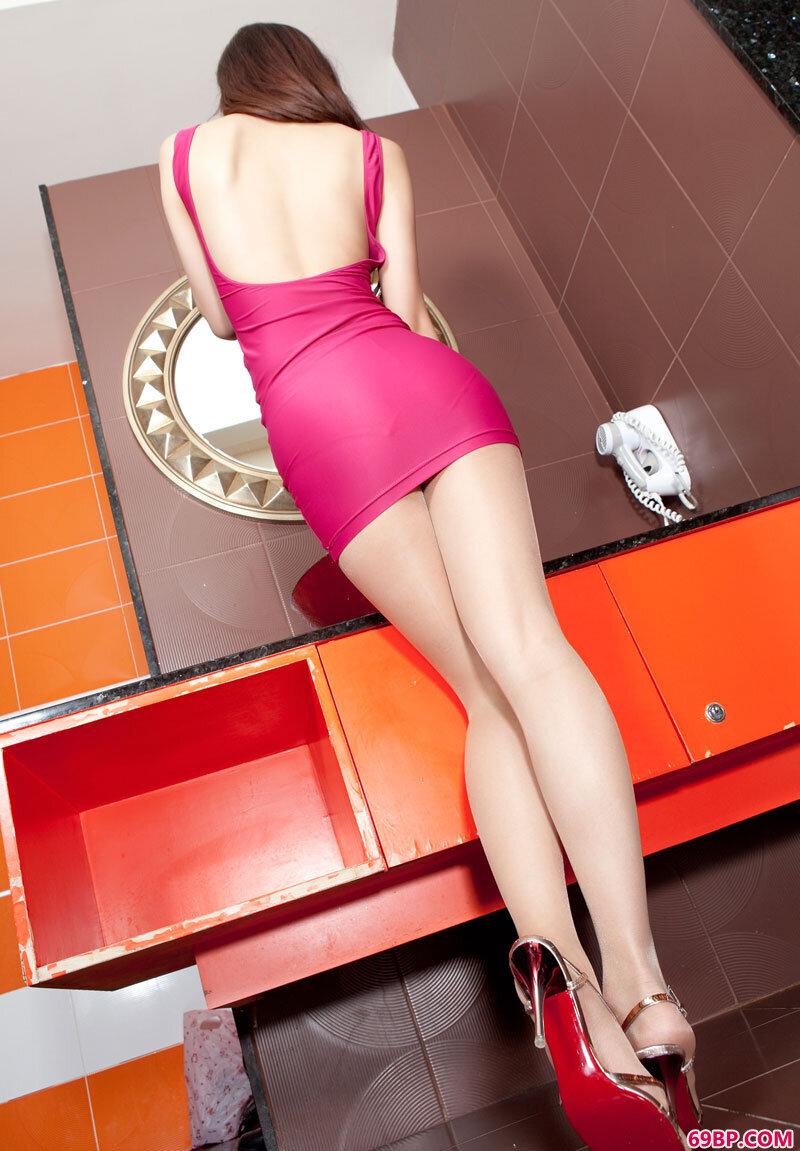 美腿美模第89期Sara_龙圆圆西西人体