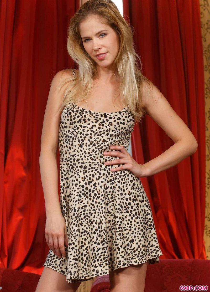 豹纹美体名模Tracy_正版人体艺术